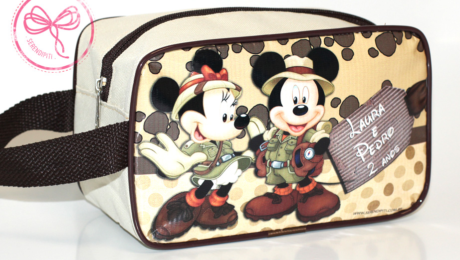 Mickey e Minnie Safari